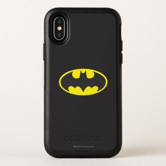 Symbool | van Batman het Ovale Logo van de Knuppel OtterBox Symmetry iPhone X Hoesje