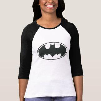 Symbool | van Batman het Zwarte Witte Logo van de T Shirt