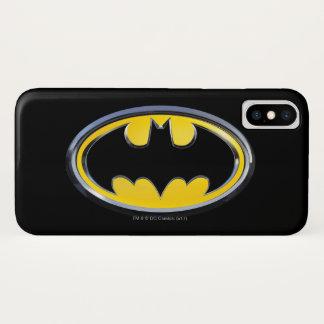 Symbool | van Batman Klassiek Logo iPhone X Hoesje