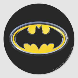 Symbool | van Batman Klassiek Logo Ronde Stickers