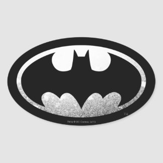 Symbool | van Batman Korrelig Logo Ovale Sticker