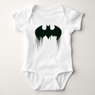 Symbool | van Batman Logo Spraypaint Romper