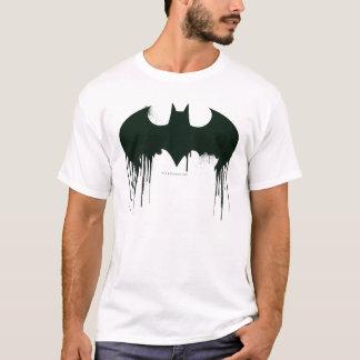 Symbool | van Batman Logo Spraypaint T Shirt