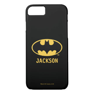 Symbool | van Batman Ovaal Logo iPhone 8/7 Hoesje
