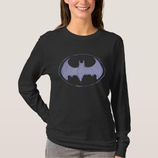 Symbool | van Batman Paars Logo Sketchbook T Shirt