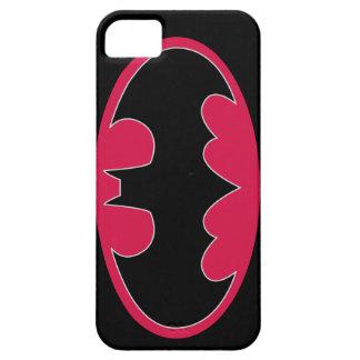 Symbool | van Batman Rood Zwart Logo Barely There iPhone 5 Hoesje
