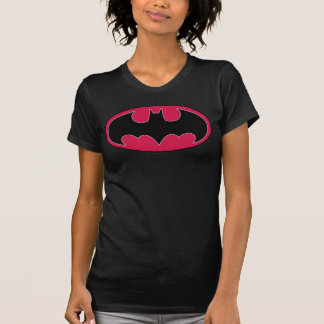 Symbool | van Batman Rood Zwart Logo T Shirt