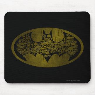 Symbool | van Batman Schedels in het Logo van de Muismat