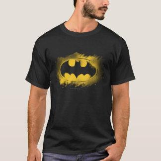 Symbool | van Batman Zwart en Geel Logo T Shirt