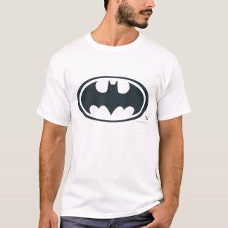 Symbool | van Batman Zwart-wit Logo T Shirt