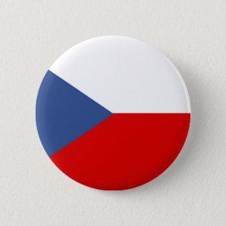 symbool van de de vlagnatie van het Tsjechische Ronde Button 5,7 Cm
