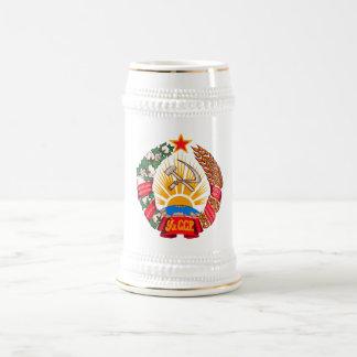 Symbool van de Wapenkunde van Oezbekistan van het Bierpul