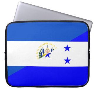 symbool van het de vlagland van El Salvador Computer Sleeve