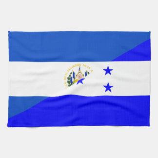 symbool van het de vlagland van El Salvador Theedoek