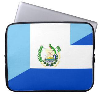 symbool van het de vlagland van Guatemala El Laptop Sleeve