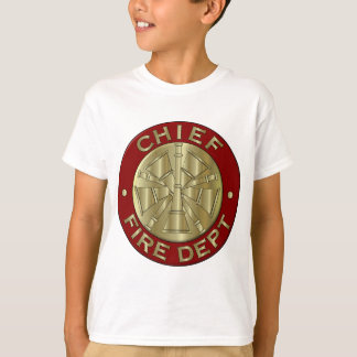 Symbool van het Messing van het brandweerkorps het T Shirt