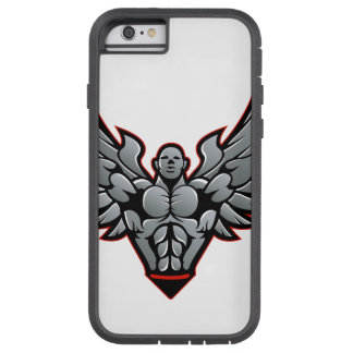Symbool voor gymnastiek en geschiktheid tough xtreme iPhone 6 hoesje