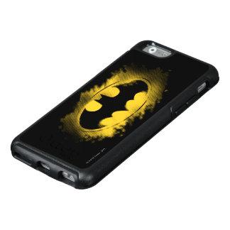 Symbool | Zwart en Geel Logo 2 van Batman OtterBox iPhone 6/6s Hoesje