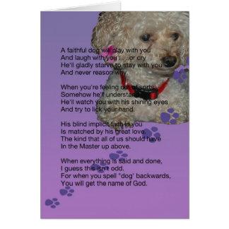 sympathie voor hond kaart