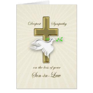 Sympathie voor verlies van Schoonzoon Briefkaarten 0