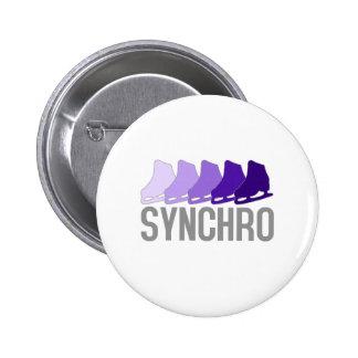 Synchro Schaatsen Ronde Button 5,7 Cm