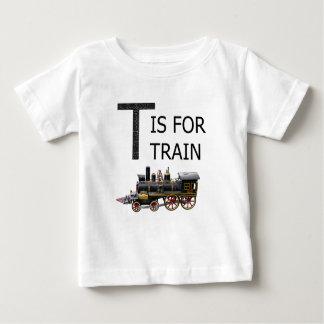 T IS VOOR TREIN BABY T SHIRTS