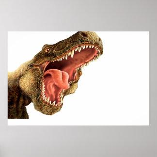 T Rex de Kinder Zaal van het Poster van de Muursch