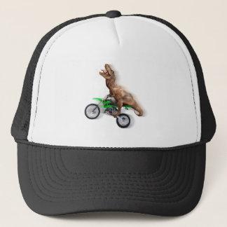 T rex motorfiets - t rex rit - het Vliegen t rex Trucker Pet