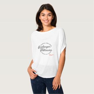 T-shirt aan hecht lange Vrouw