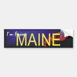 T-SHIRT ben ik van Maine Bumpersticker
