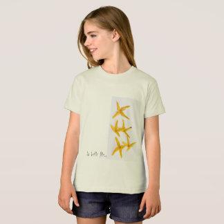 T-shirt biologisch voor meisje van American Appare