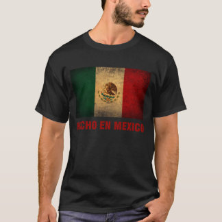 T-shirt - de Engelse Mexico Vlag van Hecho