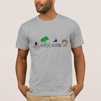 T-shirt, Emblemen op voorzijde/achter T Shirt