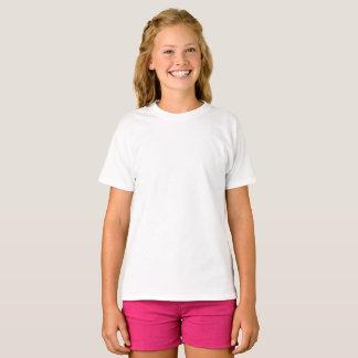 T-shirt Hanes van de Meisjes van de douane de