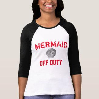 T-shirt het buiten dienst van het Honkbal van de