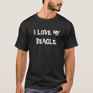 T-shirt I houdt van Mijn Brak
