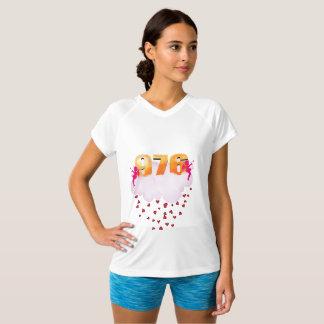 T-shirt kraag in V voor vrouwen