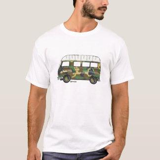 T-shirt met camouflage Renault Estafette