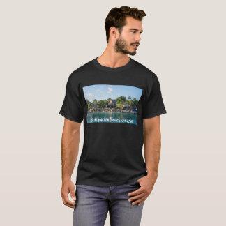 T-shirt met Curaçao van het Strand van het