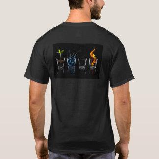 T-shirt met de 4 elementen