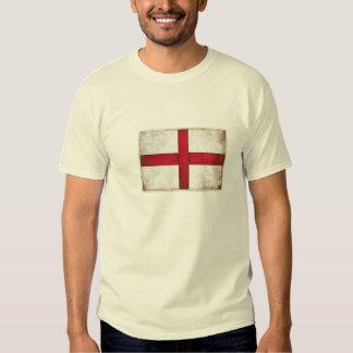 T-shirt met de Oude Engelse Vlag van de Stijl