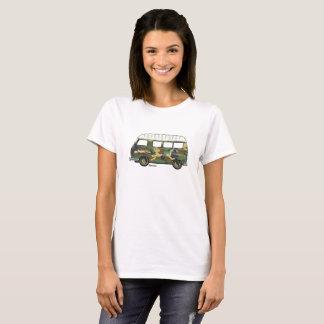 T-shirt met gecamoufleerde Renault Estafette