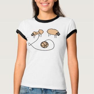 T-shirt met het Ontwerp van Schapen