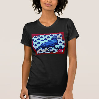 """T-shirt met originele kunst de """"Koningin van de"""