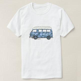 T-shirt met Renault Estafette in blauw