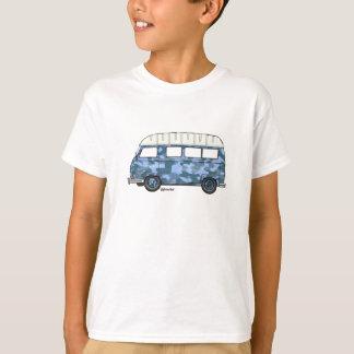 T-shirt met Renault Estafette in blauwe camo