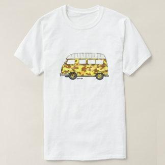 T-shirt met Renault Estafette in gele camo