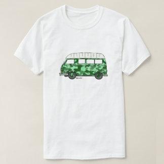 T-shirt met Renault Estafette in mintgroen