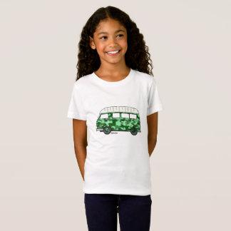 T-shirt met Renault Estafette in mintgroen camo