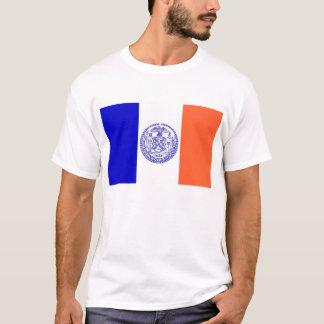T-shirt met Vlag van de Stad de V.S. van New York